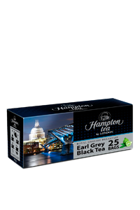 Черный чай Hampton tea «Earl Grey» 25 пакетиков